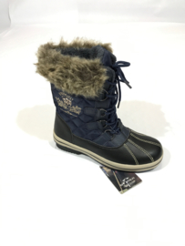 Winterboots - HV Polo - Navy/Bruin