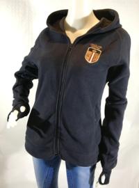 Sweater met rits - Kingsland - Navy - Maat XL