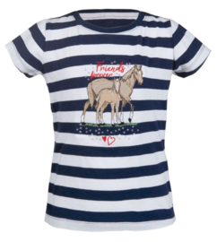 T-shirt kids Striped navy