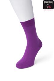 Bonnie Doon Cotton Sock Crocus Dames