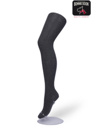 Bonnie Doon Classic Cable Tights Ivory Dames