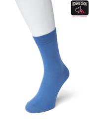 Bonnie Doon Cotton Sock Delfts Blue Dames