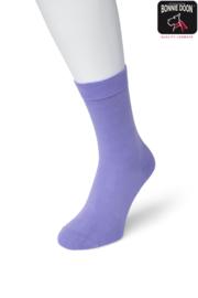 Bonnie Doon Cotton Sock Lilac Dames