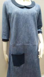 Jeans look jurk, mt. XL