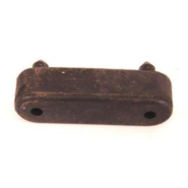 Rubber voor onder buddyseat Vespa LX ovaal - origineel product