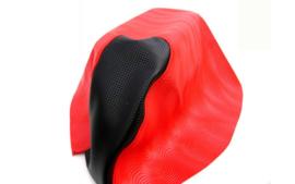 Buddydek Yamaha Aerox - WAVE - rood met zwart