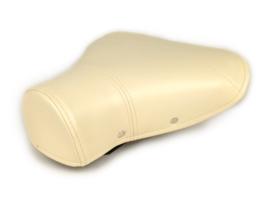 Zadel achter -  Vespa PX largeframe - crème