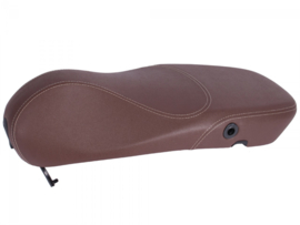 Zadel / buddyseat  Vespa Primavera - donkerbruin - origineel product