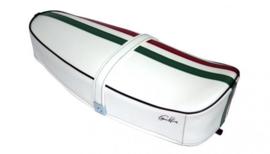 Zadel Tricolore Vespa ET3 / Primavera (PV) 50-125 - wit