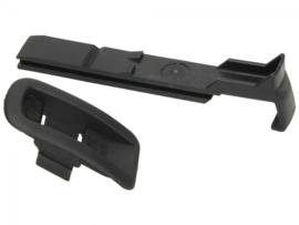 Tashaak aluminium - Vespa LX / LXV / S / ET2 / ET4- standaard kunststof