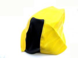 Buddydek Yamaha Aerox - WAVE - geel met zwart