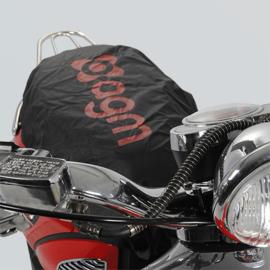 Zadelhoes met AGM logo - zwart