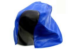 Buddydek Yamaha Aerox - WAVE - blauw met zwart