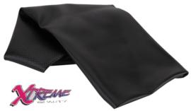 Buddydek Yamaha Neo's - zwart met carbon-motief
