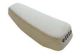Buddyseat Gilera Citta - origineel product - wit met zwarte letters