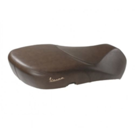 Zadel / buddyseat  Vespa Primavera - bruin echt leder- origineel product