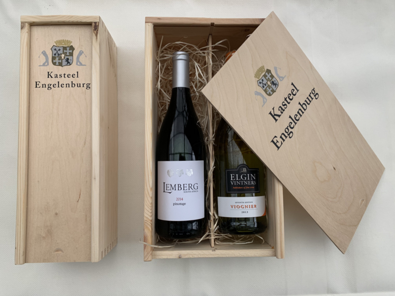Fles Zuid-Afrikaanse wijn