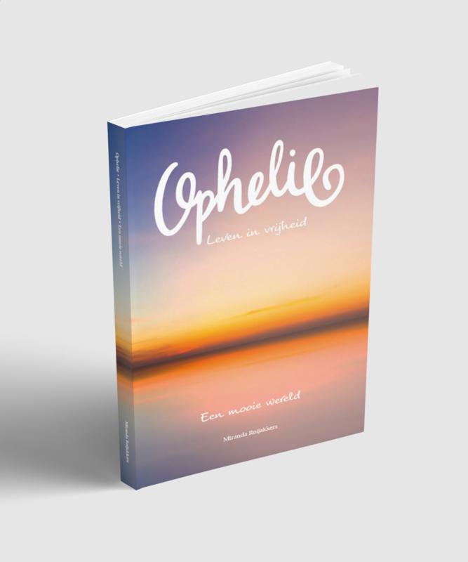 Hard cover boek Ophelie
