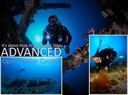 PADI Advanced, Praktijk, 5 duiken