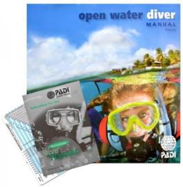 PADI Scuba Diver en Open Water Theorie Boek met RDP, (71142DU) ZONDER BREVET