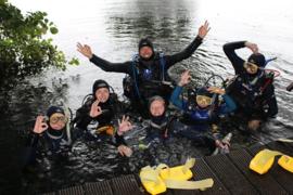 FUN duik met begeleiding voor NIET diveteam leden