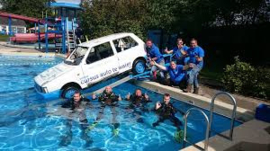 Auto Te Water Demonstratie