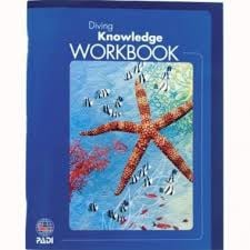 PADI Workbook - Diving Knowledge, (70214DU)