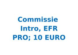 Commissie 10 euro