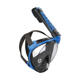 Cressi Duke Snorkelmasker Zwart-Blauw