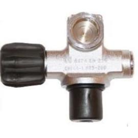 Kraan Enkel 230 bar M25X2 met plug