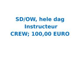 Vrijwilligersvergoeding SD/OW dag, Instructeur (23 uur)