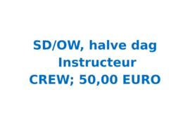 Vrijwilligersvergoeding SD/OW halve dag, Instructeur (12 uur)