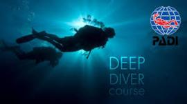 PADI Deep Diver Specialty, inclusief Theorie en Brevet
