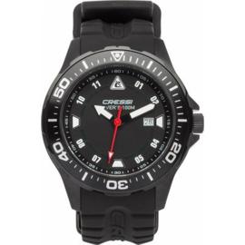 Cressi Manta Horloge Zwart