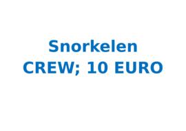 Vrijwilligersvergoeding Snorkelen (3 uur)