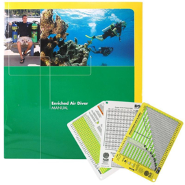 PADI 71153 Enriched Air (Nitrox) Specialty Manual - Enriched Air Diver with Tables