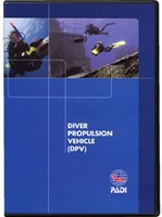 PADI 70929 Dive Propulsion Vehicle Specialty DVD - Diver Propulsion Vehicle , Diver Edition Engels!