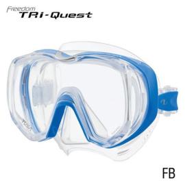 Tusa Tri-Quest Transparant Masker, meerdere kleuren