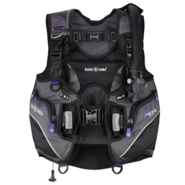 Aqualung Pearl Black/Twilight Trimvest
