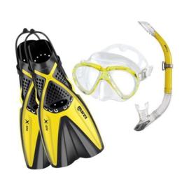 Mares X-One Marea snorkelset Geel
