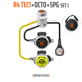 Tecline R4 TEC1 set
