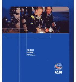PADI 79301 Night Diver Specialty Manual - Night Diver Engels!