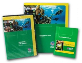 PADI 70480 Enriched Air (Nitrox) Specialty Crewpak - Enriched Air Diver, with DVD, Computer Use