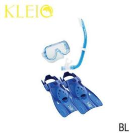 Tusa Mini-Kleio Travel Junior Snorkelset Blauw