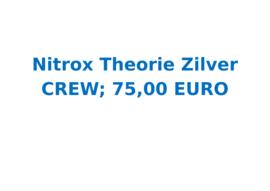 Vrijwilligersvergoeding Nitrox Theorie Zilver ( 20 uur)