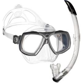Aqualung Look 2 snorkelset Zwar