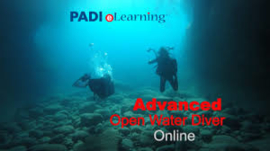 PADI Advanced Theorie TOUCH, (60390-1) + BREVET