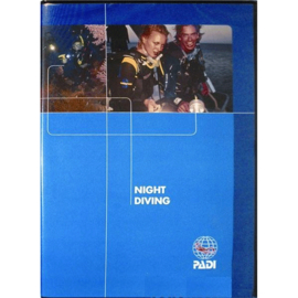 PADI 70859MUL Night Diver Specialty DVD - Night Diving, Diver Edition (E/S) Engels!