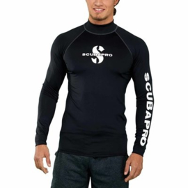 Scubapro Rash Guard heren lang Zwart