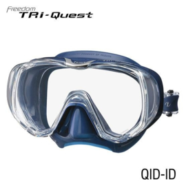 Tusa Tri-Quest Zwart Masker, meerdere kleuren